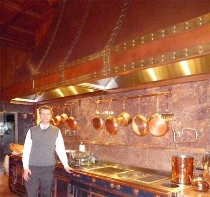 Extra Large Copper Range Hoods