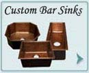 Copper Custom Bar Sinks
