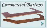 Copper Commercial Bartops
