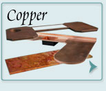 Metal Countertops Copper
