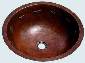 Copper Bath Sinks # 2001