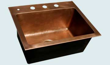 Custom Bar Sinks # 3556