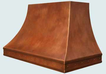 Copper Range Hood # 2752