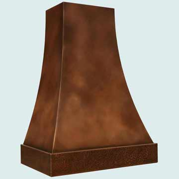 Copper Range Hood # 2765