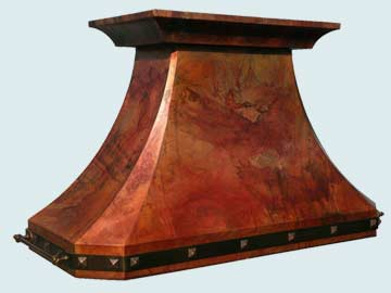 Copper Range Hood # 2768