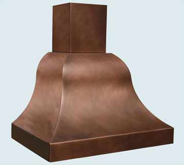 Copper Range Hood # 2797