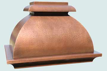 Copper Range Hood # 2808