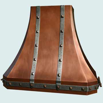 Copper Range Hood # 2908
