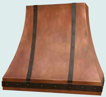 Copper Range Hood # 2912