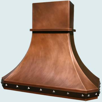 Copper Range Hood # 2955