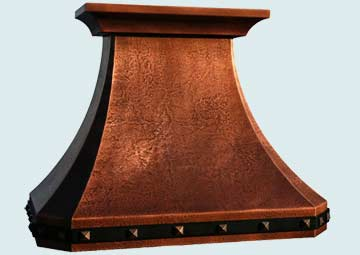 Copper Range Hood # 2981