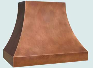 Copper Range Hood # 3033