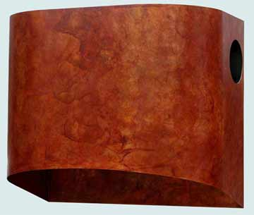 Copper Range Hood # 3150