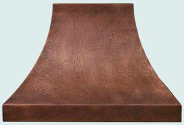 Copper Range Hood # 3197