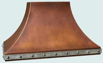 Copper Range Hood # 3198