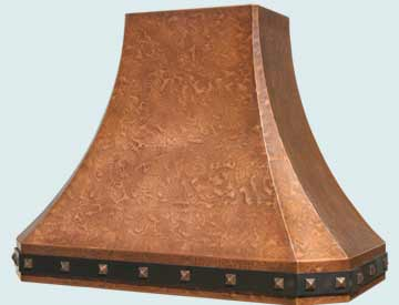 Copper Range Hood # 3219