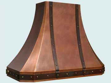 Copper Range Hood # 3220