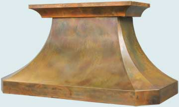 Copper Range Hood # 3233