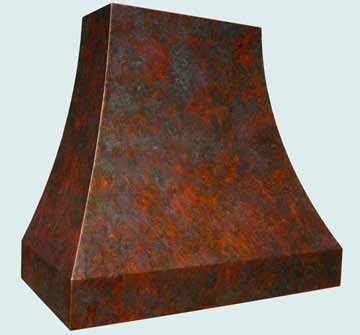 Copper Range Hood # 3830
