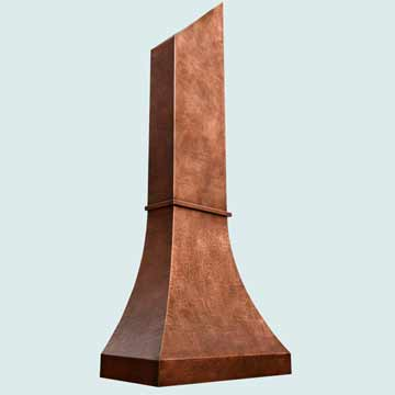Copper Range Hood # 3865