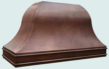 Copper Range Hood # 3880