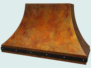 Copper Range Hood # 4027