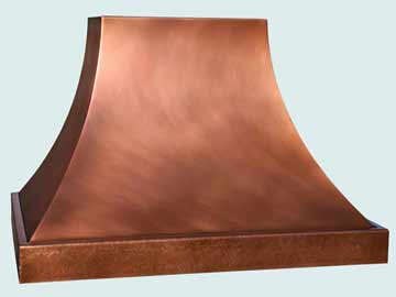 Copper Range Hood # 4448