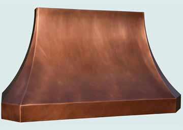 Copper Range Hood # 4376