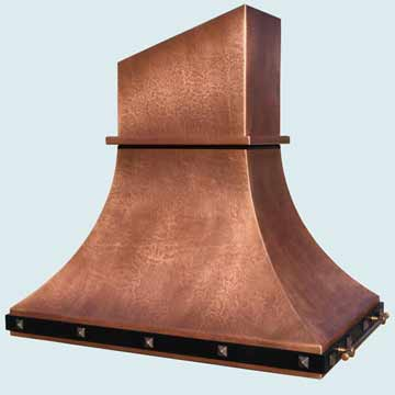 Copper Range Hood # 4385