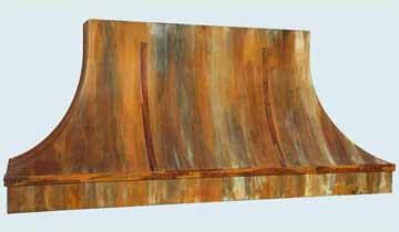 Copper Range Hood # 4397