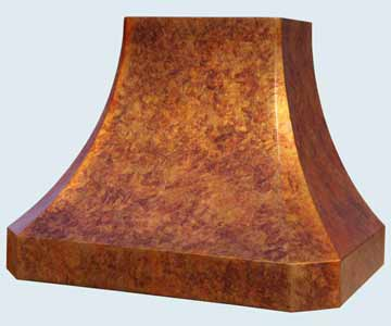Copper Range Hood # 4501