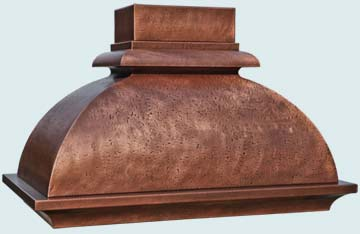 Copper Range Hood # 4768