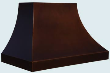 Copper Range Hood # 4834