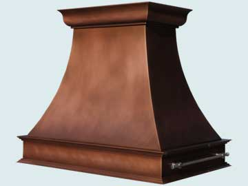 Copper Range Hood # 5152