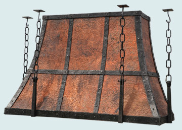 Copper Range Hood # 5430