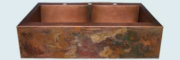 Copper Sinks Old World Patina # 2840