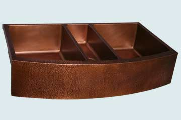 Copper Extra Large Sinks # 3003