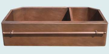 Copper Extra Large Sinks # 3527