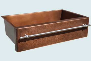 Copper Sinks Towel Bar  # 5064