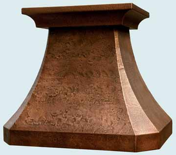 Copper Range Hood # 2506