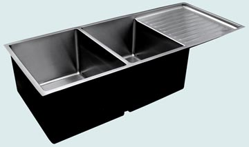 Stainless Steel Drainboard Sinks # 3697