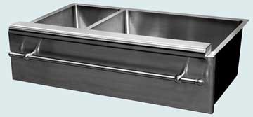 Stainless Steel Special Apron Sinks # 3728