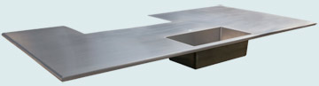 Stainless Steel Countertop # 3805