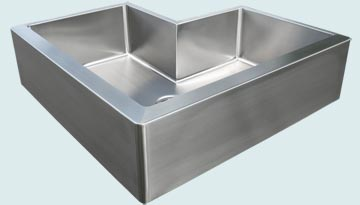 Stainless Steel Special Apron Sinks # 2954