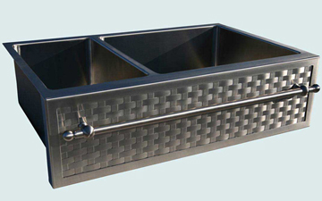 Stainless Steel Woven Apron Sinks # 3051