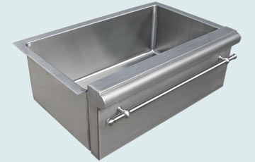 Stainless Steel Special Apron Sinks # 3724