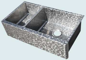Custom Stainless Steel Farmhouse Sinks # 4541