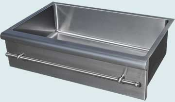Stainless Steel Special Apron Sinks # 4815