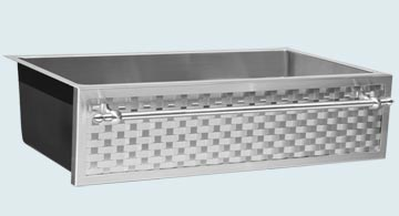 Stainless Steel Woven Apron Sinks # 5304
