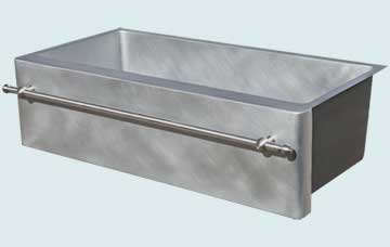 Custom Zinc Farmhouse Sinks # 5080